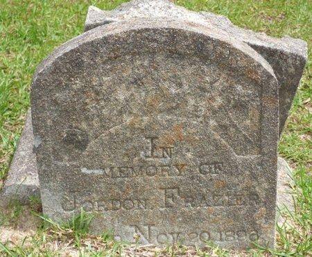 FRAZIER, JORDON - Pike County, Alabama | JORDON FRAZIER - Alabama Gravestone Photos