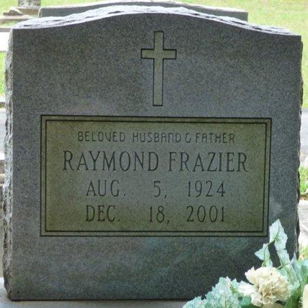FRAZIER, RAYMOND - Pike County, Alabama   RAYMOND FRAZIER - Alabama Gravestone Photos
