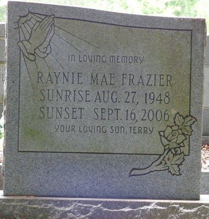 FRAZIER, RAYNIE MAE - Pike County, Alabama   RAYNIE MAE FRAZIER - Alabama Gravestone Photos