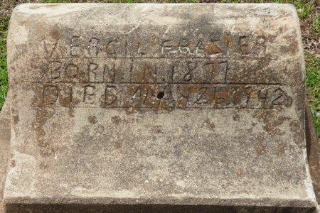 FRAZIER, VERGIL - Pike County, Alabama   VERGIL FRAZIER - Alabama Gravestone Photos