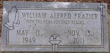 FRAZIER, WILLIAM ALFRED - Pike County, Alabama   WILLIAM ALFRED FRAZIER - Alabama Gravestone Photos