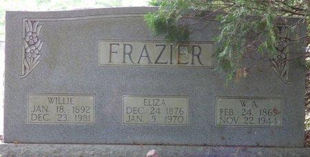 FRAZIER, WILLIE - Pike County, Alabama   WILLIE FRAZIER - Alabama Gravestone Photos