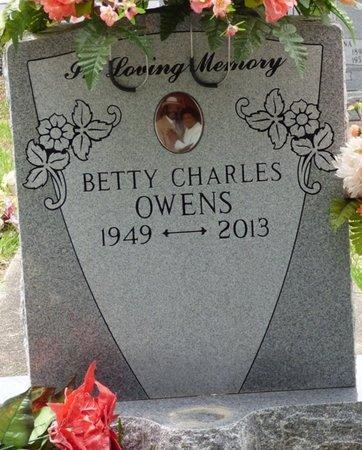OWENS, BETTY CHARLES - Pike County, Alabama | BETTY CHARLES OWENS - Alabama Gravestone Photos