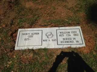 COST, NANCY - Shelby County, Alabama   NANCY COST - Alabama Gravestone Photos